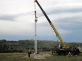 Piccolo generatore di vento con l'incidenza regolabile (turbina 5kw)
