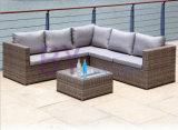 sofá ao ar livre do Rattan da mobília do Rattan do balcão do hotel do lazer by-442