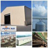 Struttura d'acciaio prefabbricata Sheed di Hapy per la Camera di pollicultura