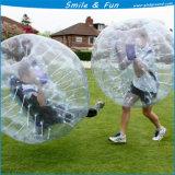Size1.5*1.3 (H) per l'adulto 1 sfera Bumper gonfiabile della persona PVC0.8mm