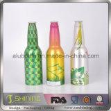 Bottiglia da birra di alluminio con il coperchio a vite