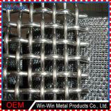 Preiswerter galvanisierter Edelstahl quetschverbundener Hochleistungsmaschendraht für Steinzerkleinerungsmaschine-Bildschirm