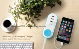 Mulit Fast 5V 2A 4 Ports Portable Travel USB Charger (ID532)