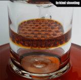 Glasbaum-Arm-Bienenwabe Perc der pfeife-8 rote Glaswasser-Rohr-Glasölplattform