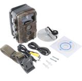 câmera infravermelha Scouting do jogo da caça da visão noturna de 16MP 1080P