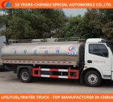 Camion de réservoir à lait de Dongfeng 8cbm