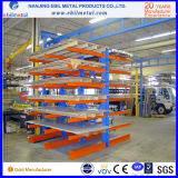 Racking Cantilever de aço popular do fabricante chinês com cor de Ral