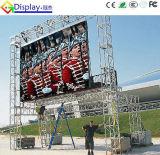 Pared video ultra brillante de P6 LED para la publicidad de media al aire libre
