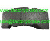 Garniture Wva 29165/29215/29268 de frein à disque de BPW