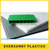 Белый пластичный re-Useble лист PP полый для пакета индустрий