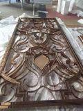Écran décoratif en métal de coupure de laser d'acier inoxydable pour la pièce de Lving