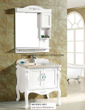 Único gabinete de banheiro clássico da vaidade do banheiro/PVC