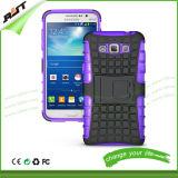 2 Shockproof em 1 caixa do telefone de pilha de Kickstand do PC de TPU para a galáxia Grand3 de Samsung