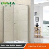 Boîte de plain-pied en aluminium de douche de porte pour la salle de bains
