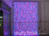Luzes Weding das cortinas do diodo emissor de luz e decoração do jardim