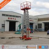 Einzelner/Aluminiumlegierung-Mann-Aufzug-hydraulischer Mast-Aluminiumaufzug des Doppelt-/drei/vier Mast