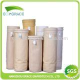 Saco de filtro industrial de estática da poeira de Nomex da fornalha da planta de aço anti
