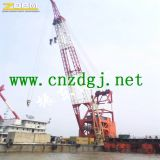 Guindaste hidráulico da captação do barco do fabricante de China para a venda