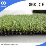 Erba/tappeto erboso artificiali per l'abbellimento/a buon mercato erba del tappeto erboso