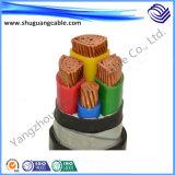 낮은 전압 Multicores XLPE 절연제 PVC 칼집 전력 케이블