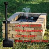 Pompa automatica della fontana del giardino dell'interruttore dell'acqua bassa