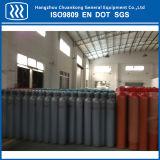 cilindro de gás do oxigênio do CO2 do argônio do nitrogênio do aço 50L sem emenda