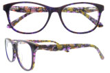 Het Italiaanse Frame van Eyewear van de Acetaat van de Manier van het Ontwerp voor Vrouwen