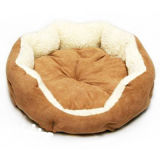 プラシ天によって詰められる足犬の`Sのソファー