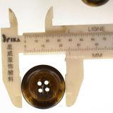 Imiter le bouton noir lisse de résine de klaxon pour les procès des hommes