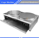 Alta calidad comercial Crepe eléctricos máquina de crepes que hace la máquina Chz-35-2