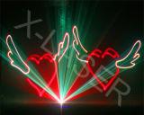 Выставка одушевленност RGB репроектора лазера этапа Multicolor