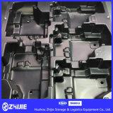 Empilhamento de dobramento destacável da prateleira das prateleiras e das peças de automóvel do armazenamento