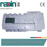 Type fendu de RDS3-125c commutateur automatique de transfert avec l'écran LCD, ATS intelligent