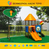 O Design o mais novo Excellent Quality Small Outdoor Playground para Kids (HAT-010)