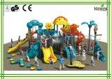 子供のスライドおよび上昇のためのスライドの高品質LLDPEのプラスチック屋外の運動場が付いている公園の動物の運動場のためのKaiqi動物のStypeの屋外の運動場