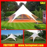 evento esterno del partito di stirata di 12m Palo della tenda a forma di stella di cerimonia nuziale