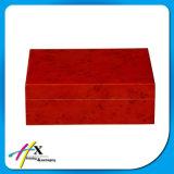 غلّة كرم أحمر خشبيّة إنجاز [سليد ووود] مرطاب سيجار يعبّئ صندوق