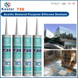 Matériaux de construction 300ml Silicone Acetic Cure Sealant (Kastar730)