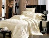 El telar jacquar Oeko de la nieve de Suzhou Taihu certificó el conjunto 100% de la hoja de ropa de cama de la seda de mora de la seda