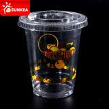 Wegwerfbares Plastic Juice Cups und Lids