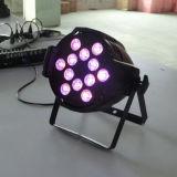 Luz de aluminio de la etapa del profesional 12X15W Rgbaw LED