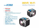 Камера H360 спортов DV с регулятором Remote 2.4G
