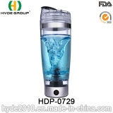 Bouteille en plastique de dispositif trembleur de vortex du Portable 600ml pour la protéine, bouteille électrique en plastique de dispositif trembleur de protéine (HDP-0729)