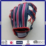 Популярная перчатка бейсбола сетки PU кожаный