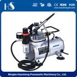 Mini compresor de aire del aerógrafo de la plantilla de alta presión del clavo