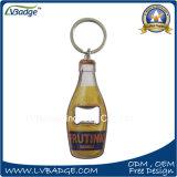 Zoll gravierter Metallschlüsselketten-Flaschen-Öffner
