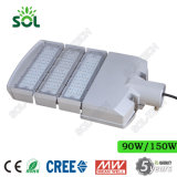 50W 100W 150W 200W 250W 300W Modular Farola LED con LED CREE y Meanwell Conductor