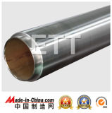 Cible de pulvérisation de chrome de nickel (Cr 20% de Ni 80%) en vente