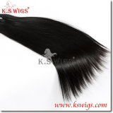 K. S Wigs Hot Sale! 100% cabelo humano Extensoin Remy cabelo humano