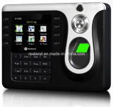 Het goedkope Biometrische Systeem van het Beheer van de Opkomst van de Tijd van de Prikklok van de Vingerafdruk